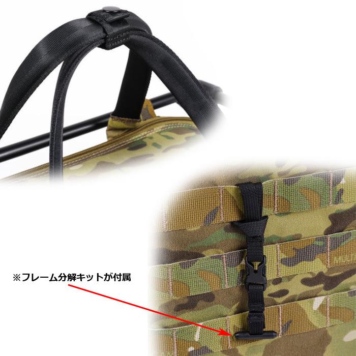 HELINOX タクティカル フィールドオフィス M/マルチカム<br>【ヘリノックス Tactical Field Office multucam】メンズ アウトドア ミリタリー アルミニウム合金 テーブル 折りたたみ