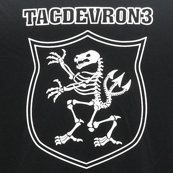 PHANTOM×UA TACDEVRON 3 Tシャツ<br>【ファントム オリジナル under armour アンダーアーマー】メンズ ミリタリー カジュアル アウトドア 特殊部隊 米海軍 NAVY SEAL ネイビー シールズ DEVGRU