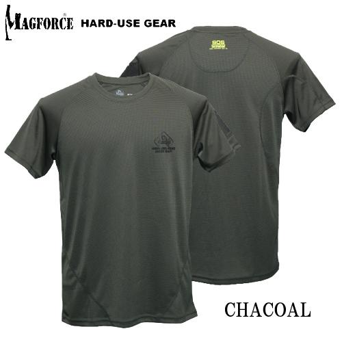 MAGFORCE SOS デイリーTシャツ<br>【マグフォース】メンズ ミリタリー カジュアル アウトドア COOLPASS 吸湿速乾素材 伸縮性