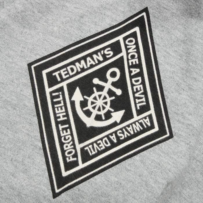 TEDMAN TDLS-327 USMC ロングスリーブ Tシャツ<br>【テッドマン TDLS-327 USMC Long Sleeve Tee】 メンズ ミリタリー カジュアル Tシャツ
