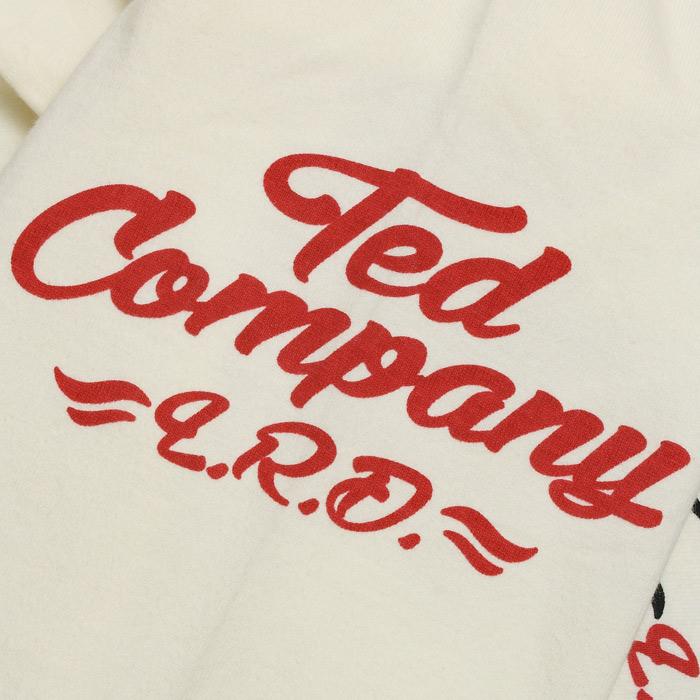 TEDMAN TDLS-314 ロングスリーブ Tシャツ<br>【テッドマン TDLS-314 Long Sleeve Tee】 メンズ ミリタリー カジュアル Tシャツ