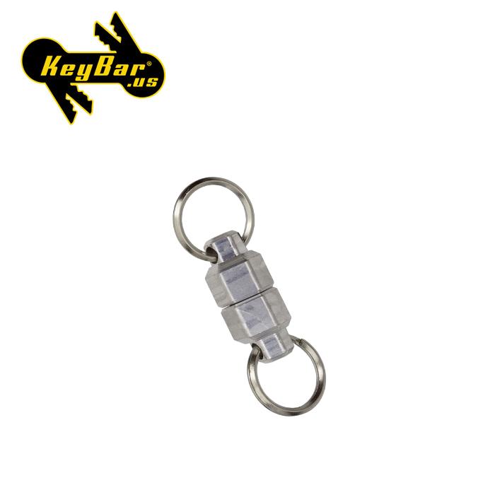 KeyBar スモール マグナッツ【キーバー Aluminum MagNut Small】メンズ アウトドア キーツール キーホルダー オプションパーツ マグネット 磁石