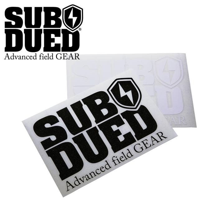 SUBDUED DECAL / LARGE 【サブデュード デカール ラージ】ミリタリー アウトドア マウンテンリーコン カッティングシート シール