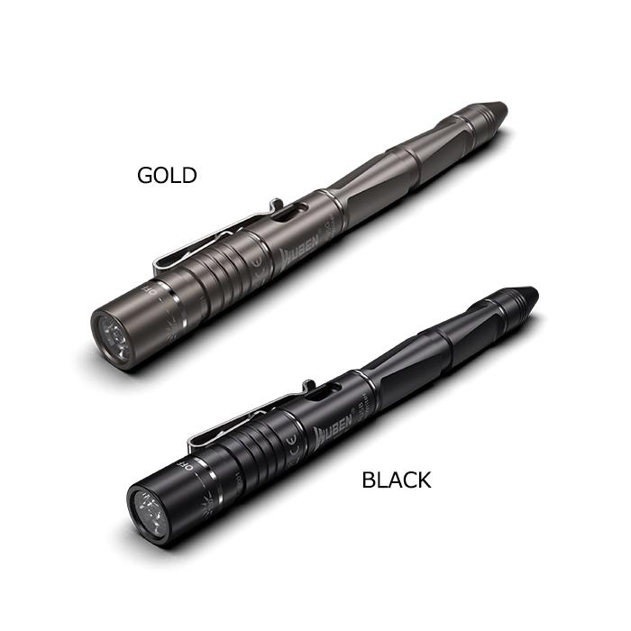 WUBEN FU5 ペンライト<br>【ウーベン pen light】マウンテンリーコン アウトドア キャンプ ボールペン アタックヘッド USB充電 最大130ルーメン