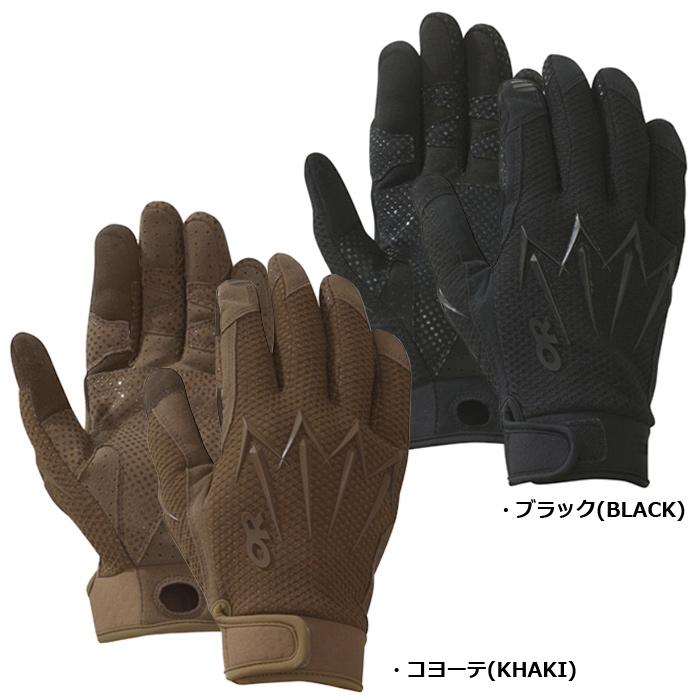 OutdoorResearch ミリタリー ハルバード グローブ<br>【アウトドアリサーチ Military Halberd Glove】メンズ アウトドア タッチスクリーン対応 軽量 操作性 通気性