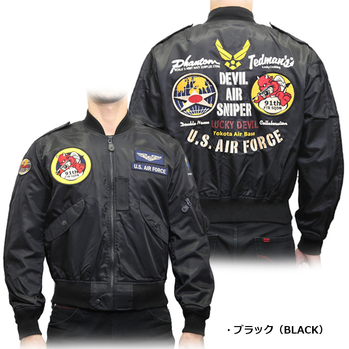 TEDMAN × PHANTOM TL2-180 L-2ジャケット<br> 【テッドマン】 メンズ ミリタリー カジュアル フライトジャケット L-2