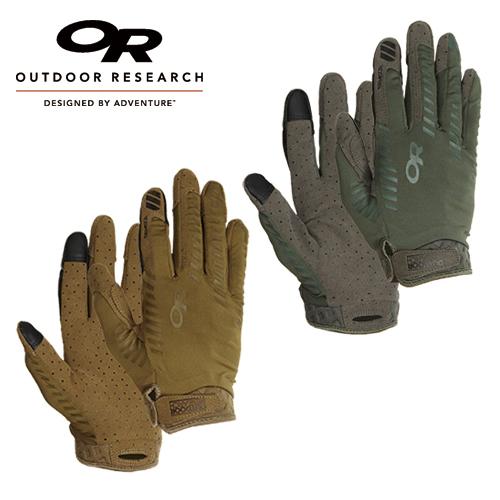 OutdoorResearch エアレーター グローブ<br>【OUTDOOR RESEARCH アウトドアリサーチ タクティカル aerator glove】メンズ ミリタリー サバイバルゲーム サバゲ アウトドア 通気性 速乾性 透湿性 ActiveIce