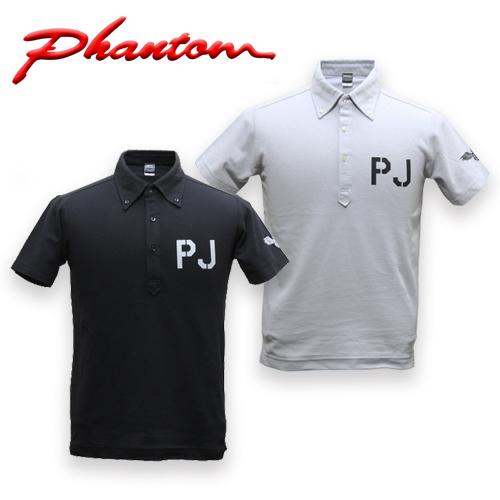 PHANTOM PJ ポロシャツ<br>【ファントム オリジナル polo】メンズ ミリタリー カジュアル アウトドア 米空軍 特殊部隊 PARARESCUEMEN パラレスキュージャンパー