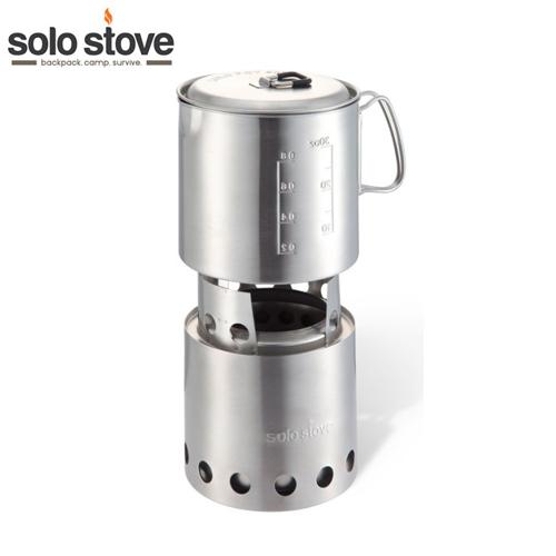 SOLO STOVE ポット900 セット<br>【ソロ ストーブ pot set】ミリタリー サバイバルゲーム サバゲ アウトドア ステンレススチール ブッシュクラフト