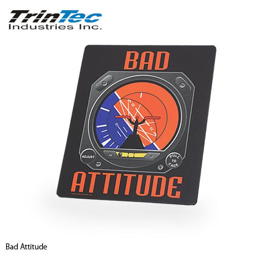 TrinTec Attitude マウスパッド  【トリンテック mouse pad】ミリタリー アウトドア インテリア 航空機 操縦室 計器 パソコンまわり