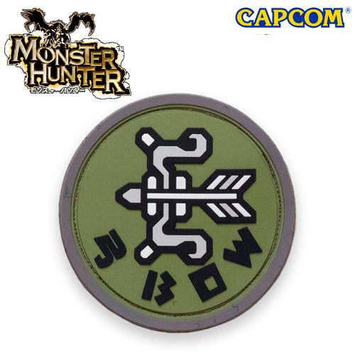 Monster Hunter PVC PATCH / BOW <br>【モンスターハンター 弓 パッチ】カプコン capcom メンズ ミリタリー カジュアル アウトドア ゲーム パッチパネル ワッペン