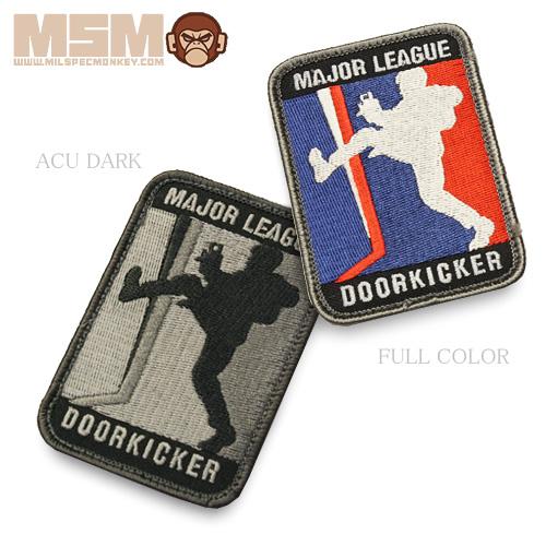 MSM MLD LARGE PATCH<br>【MIL-SPEC MONKEY ミルスペック・モンキー パッチ】ミリタリー サバイバルゲーム ワッペン ベルクロ付き