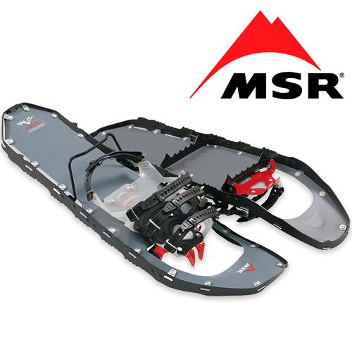 MSR ライトニング アッセント<br>【エムエスアール lightning ascent】メンズ ミリタリー アウトドア スノーシュー 軽量 360°トラクションフレーム ポジロックATバインディング トーション2クランポン テレベーター フローテーションテイル