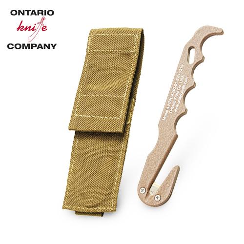 【実物放出品】ONTARIO レスキューツール<br> 【オンタリオ rescue tool】米海兵隊 USMC エマージェンシー サバイバル ベルトカッター