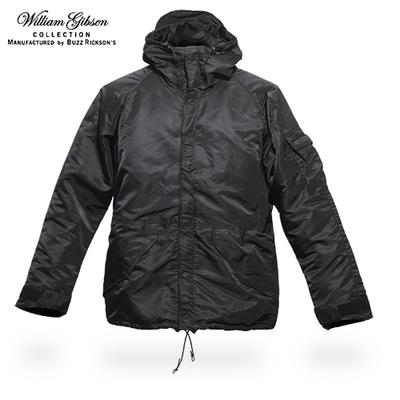 BUZZ RICKSON'S William Gibson BR12911 ECWCS ジャケット<br>【バズリクソンズ】 東洋エンタープライズ ウィリアム・ギブソン パーカー ARMY ヘビーナイロン ブラック