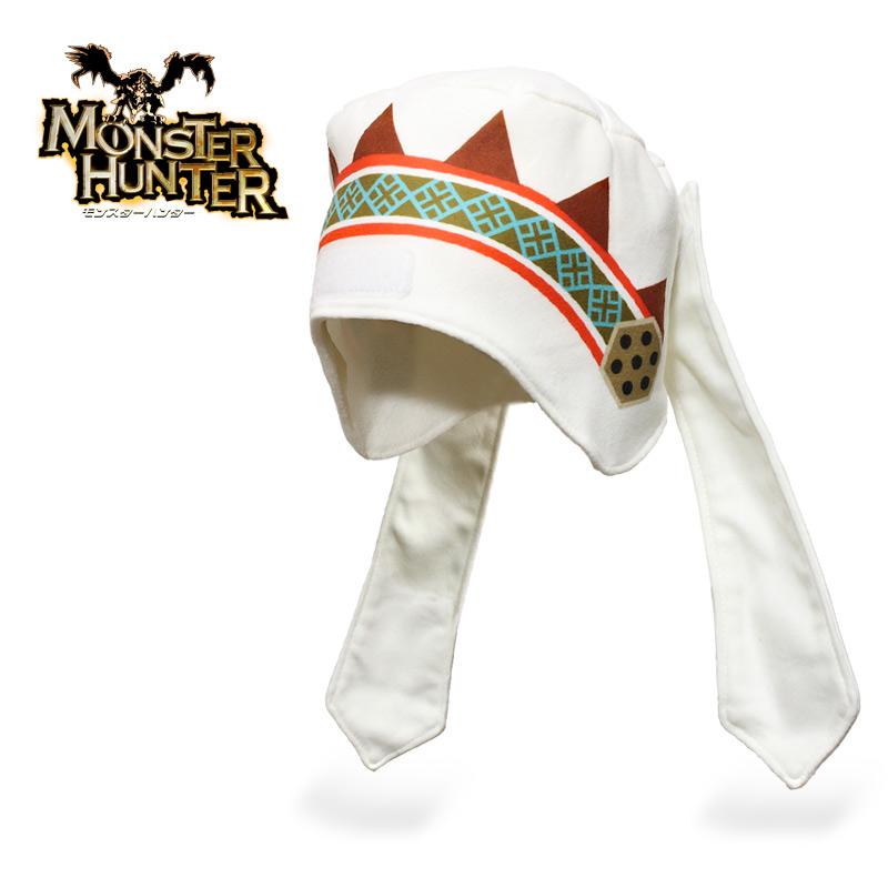 Monster Hunter ヘルメットライナー<br>【モンスターハンター】ミリタリー ゲーム カプコン CAPCOM フリース