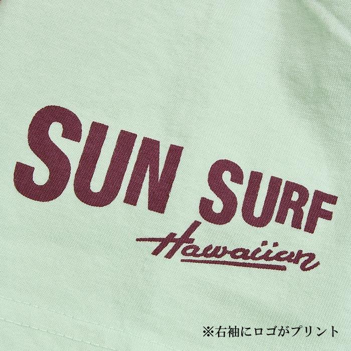 SUN SURF×PEANUTS SS78489 HAWAII Tシャツ<br>【サンサーフ ピーナッツ ハワイ T-Shirts】メンズ カジュアル 半袖 コラボ スヌーピー Snoopy