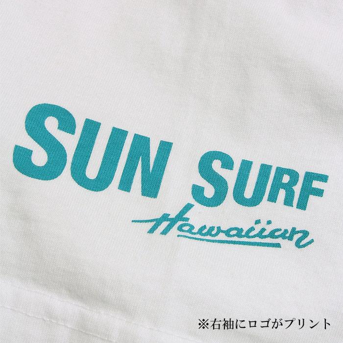 SUN SURF×PEANUTS SS78491 MEA HULA Tシャツ<br>【サンサーフ ピーナッツ メアフラ T-Shirts】メンズ カジュアル 半袖 コラボ スヌーピー Snoopy