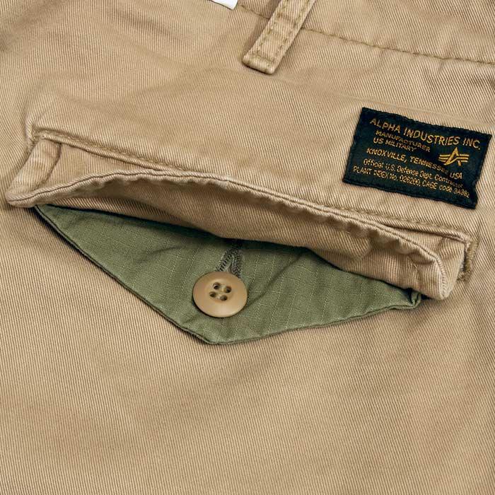 ALPHA TB1017 ワイド カーゴパンツ<br>【アルファ wide cargo pants】メンズ ミリタリー カジュアル アウトドア カーゴポケット 軍パン