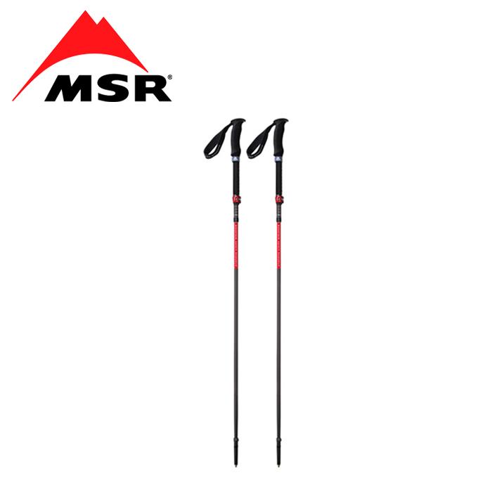MSR ダイナロック アッセント ポール L(ペア)<br>【エムエスアール dynalock&#8482; ascent poles】メンズ アウトドア バックカントリーポール 折り畳み式 軽量 コンパクト