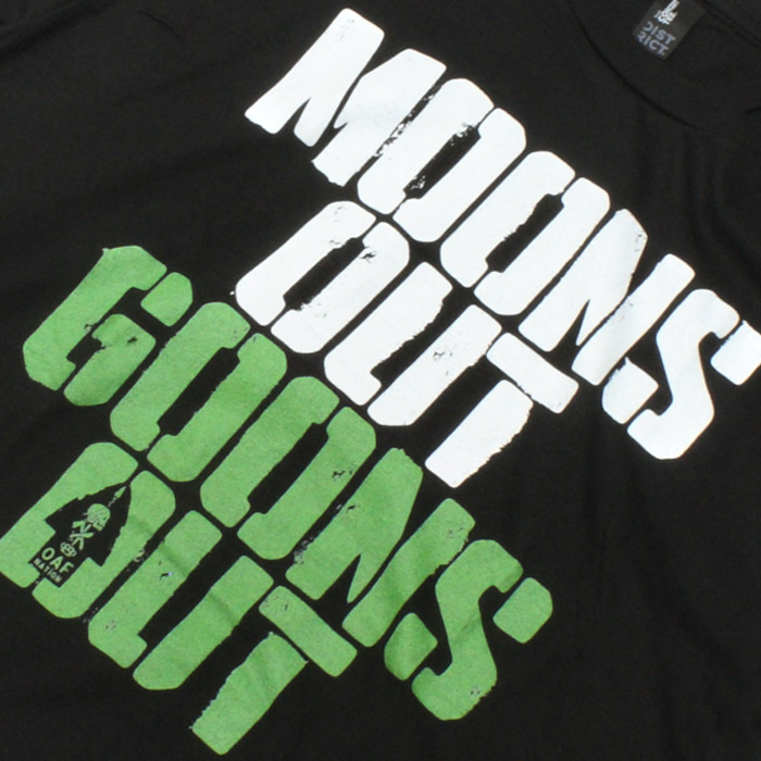 OAF NATION Tシャツ/ナイトビジョン<br>【Oaf Nation Tshirts/Night Vision】メンズ カジュアル ミリタリー Tシャツ