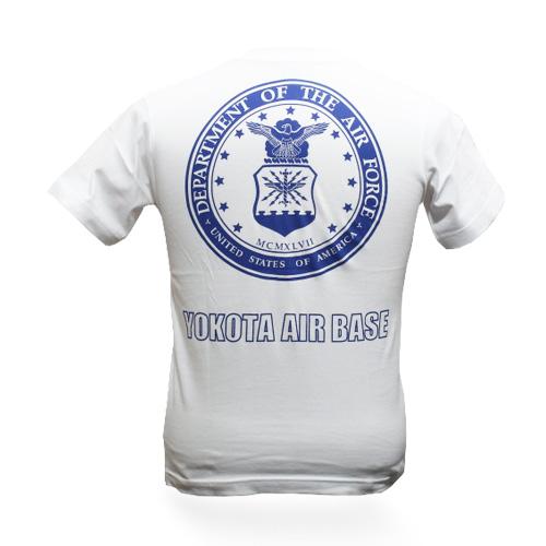 PHANTOM YOKOTA AFB Tシャツ<br>【ファントム オリジナル tee】メンズ ミリタリー カジュアル アウトドア 横田 基地祭