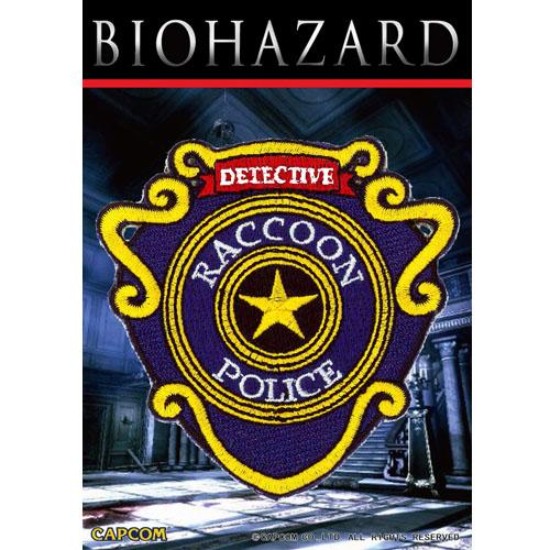 BIOHAZARD R.P.D. PATCH w/velcro <br>【バイオハザード resident evil パッチ】カプコン ゲーム CAPCOM Raccoon city Police Dept ワッペン ベルクロ付き