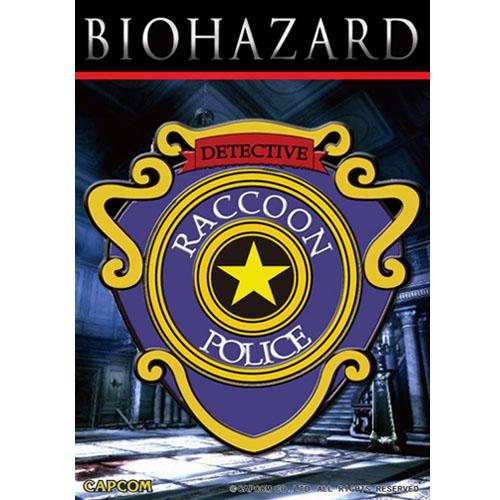 BIOHAZARD R.P.D. PVC PATCH w/velcro <br>【バイオハザード resident evil パッチ】カプコン ゲーム CAPCOM Raccoon city Police Dept ワッペン ベルクロ付き