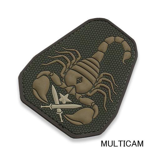 MSM SCORPION UNIT PVC PATCH<br>【MIL-SPEC MONKEY ミルスペック・モンキー スコーピオン・ユニット パッチ】ミリタリー サバイバルゲーム ワッペン ベルクロ付き