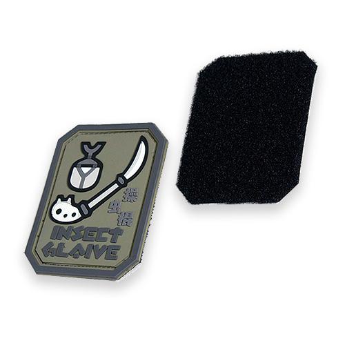 Monster Hunter PVC PATCH / INSECT GLAIVE <br>【モンスターハンター 操虫棍 パッチ】カプコン capcom メンズ ミリタリー カジュアル アウトドア ゲーム パッチパネル ワッペン