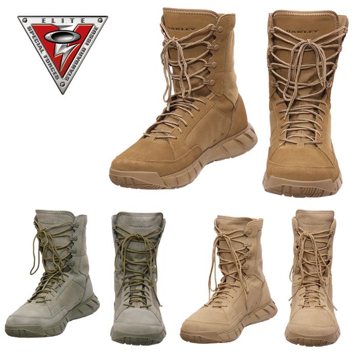 OAKLEY ライトアサルトブーツ2<br>【オークリー light assault boots】メンズ ミリタリー 8inch 8インチ丈 軽量