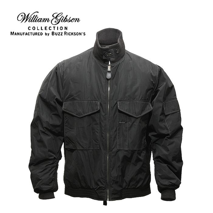 BUZZ William Gibson BR13933 WEP<br>【バズリクソンズ ウィリアム・ギブソン ウェップ】メンズ ミリタリー カジュアル フライトジャケット