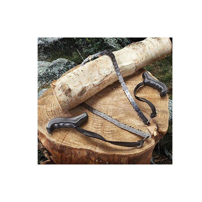 ポケット チェーンソー<br>【pocket chainsaw】アウトドア キャンプ コンパクト ノコ刃 鎖鋸 くさりのこ