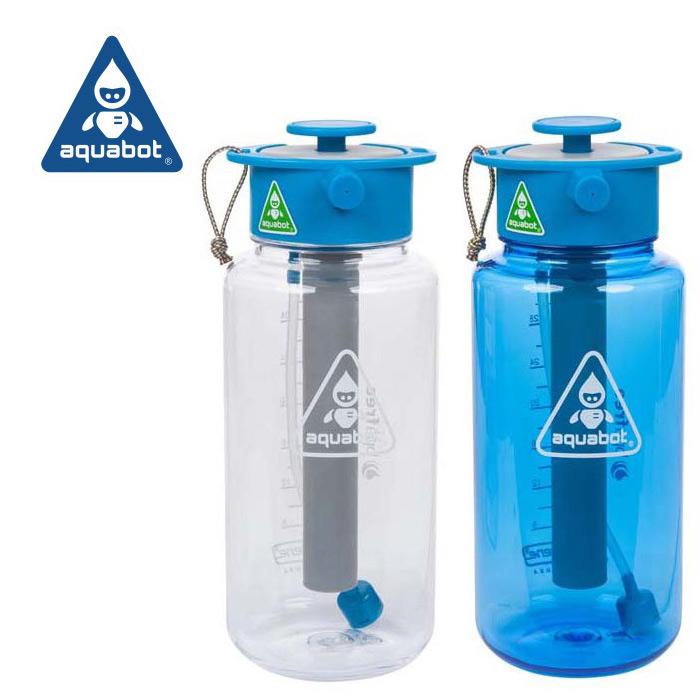LUNATEC アクアボット 1000ml<br>【ルナテック aquabot 1リットル】アウトドア 水筒 ウォーターボトル シャワー ストリーム ミスト