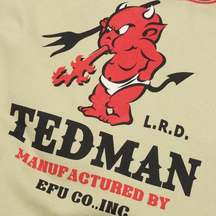TEDMAN TDSS-509 ロゴ ポケット Tシャツ<br>【テッドマン TDSS-509 LOGO POCKET Tee】 メンズ ミリタリー カジュアル Tシャツ
