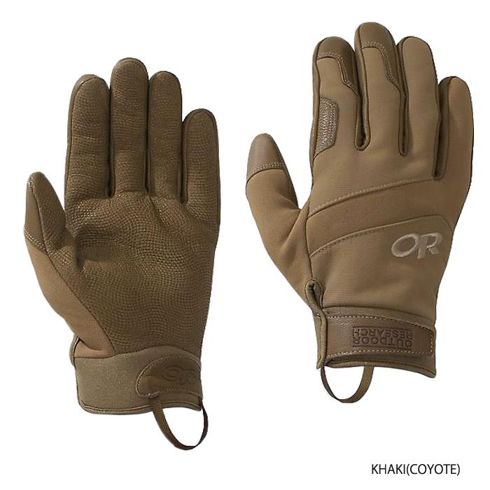 OutdoorResearch ミリタリー コールドショットグローブ<br>【アウトドアリサーチ military coldshot glove】メンズ ミリタリー サバイバルゲーム サバゲ アウトドア DWR処理 断熱性