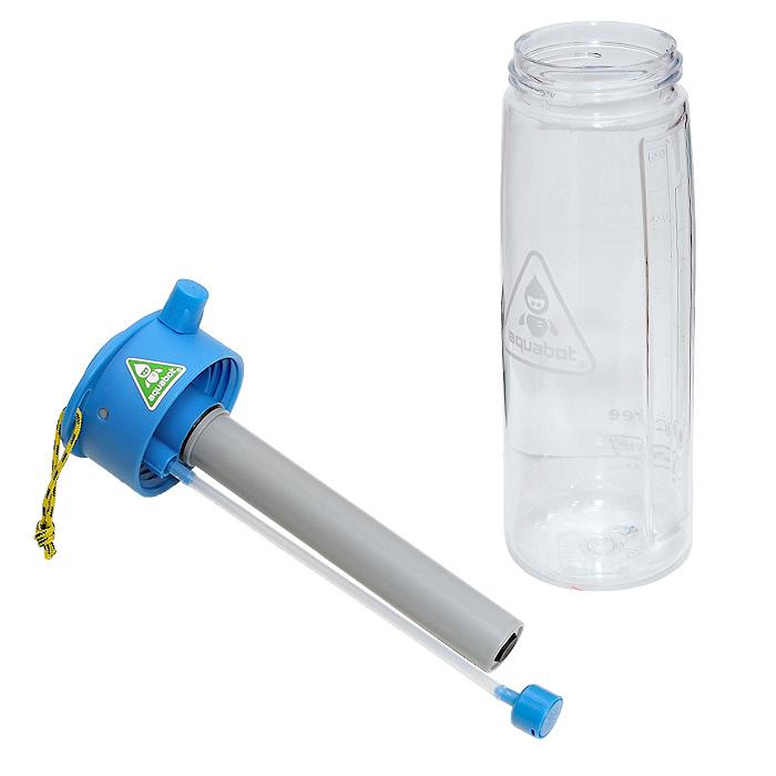 LUNATEC アクアボット 650ml<br>【ルナテック aquabot 0.65リットル】アウトドア 水筒 ウォーターボトル シャワー ストリーム ミスト