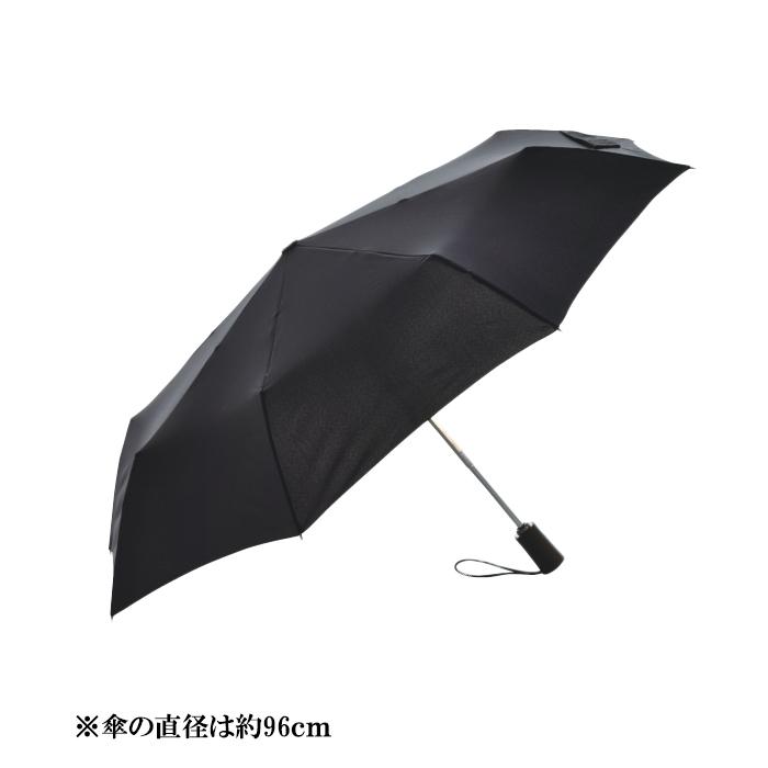 HUS. S/AOC チタニウム フォールディング・アンブレラ<br>【ハス Titanium 自動開閉 折り畳み傘】メンズ レディース アウトドア テフロン加工 UV加工 雨晴兼用