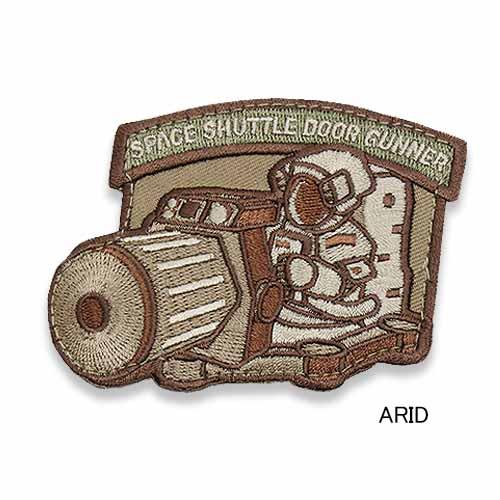 MSM SHUTTLE DOOR GUNNER PATCH<br>【MIL-SPEC MONKEY ミルスペック・モンキー シャトル・ガンナー パッチ】ミリタリー サバイバルゲーム ワッペン ベルクロ付き