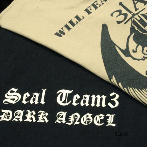 PHANTOM ST3 ダークエンジェル Tシャツ<br>【ファントム オリジナル】サバイバルゲーム サバゲ ミリタリー seals シールズ dark angel 半袖