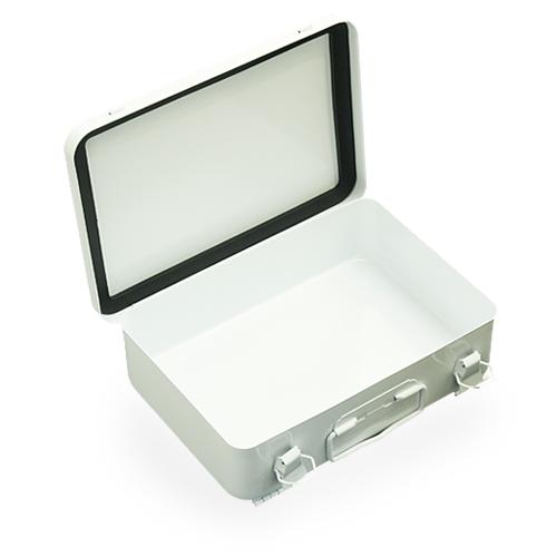 DURHAM 506S ファーストエイド・キット ボックス  【ダーム first aid kit box】 ミリタリー アウトドア インテリア 収納 ガレージ メタルボックス スチール製 救急箱