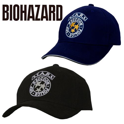 BIOHAZARD S.T.A.R.S キャップ<br>【バイオハザード resident evil】スターズ メンズ ミリタリー カジュアル アウトドア ゲーム RPD