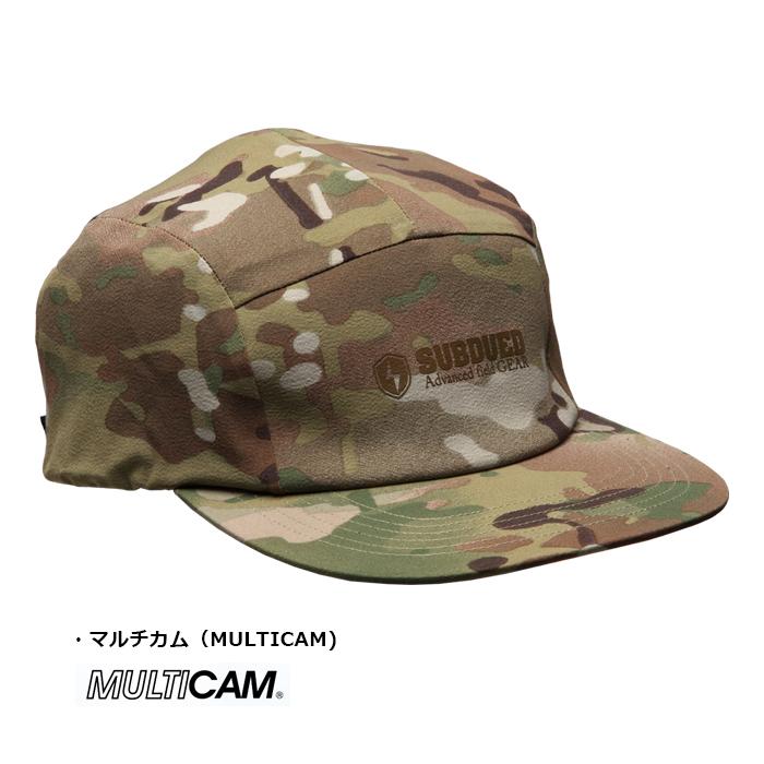 SUBDUED 5PANEL CAP<br> 【サブデュード ファイブパネルキャップ】ミリタリー アウトドア キャンプ 登山 ハイキング フィッシング NeoShell マルチカム MULTICAM