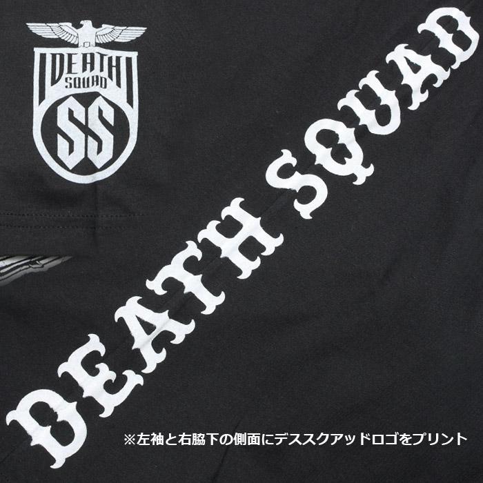 DEATH SQUAD FUCK IT Tシャツ<br>【デス スクアッド ファック イット Tee】 メンズ カジュアル ミリタリー Tシャツ