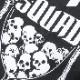 DEATH SQUAD HOUR GRASS Tシャツ<br>【デス スクアッド アワー グラス Tee】 メンズ カジュアル ミリタリー Tシャツ