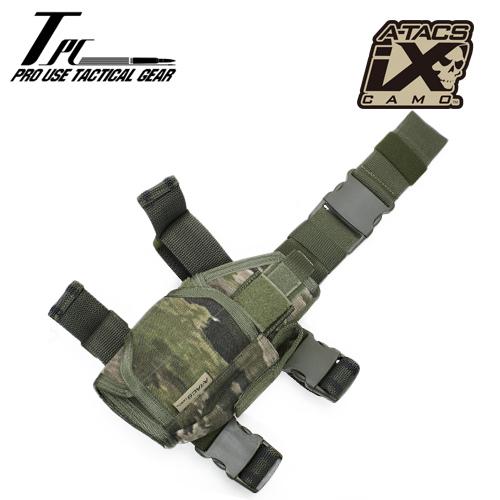 TP ユニバーサル レッグ ホルスター / A-TACS iX<br>【tactical performance universal leg holster/エータックス アイエックス】タクティカルパフォーマンス DCS A-TACS iX コーデュラナイロン