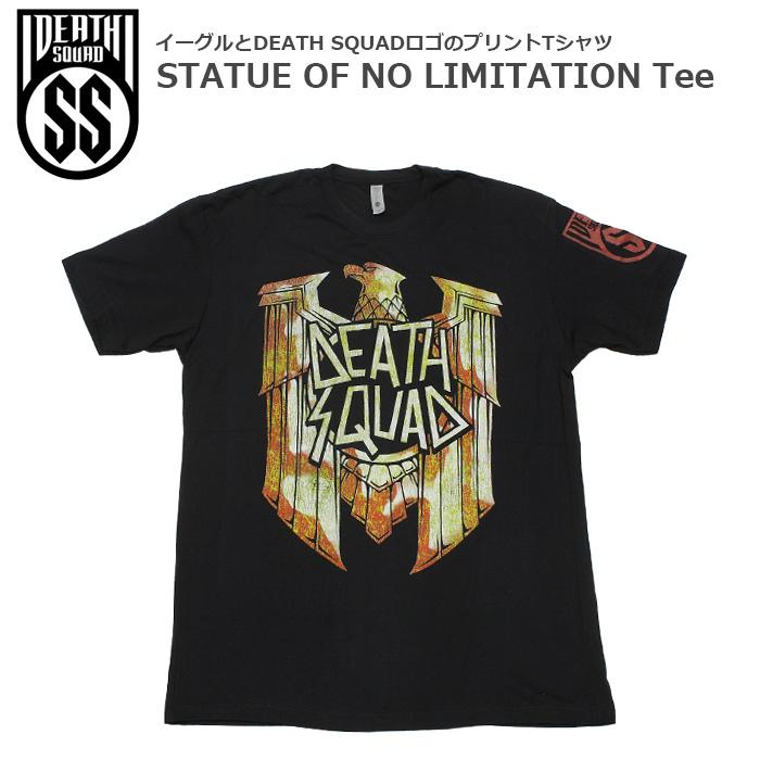 DEATH SQUAD STATUE OF NO LIMITATION Tシャツ<br>【デス スクアッド スタチュー オブ ノー リミテーション Tee】 メンズ カジュアル ミリタリー Tシャツ