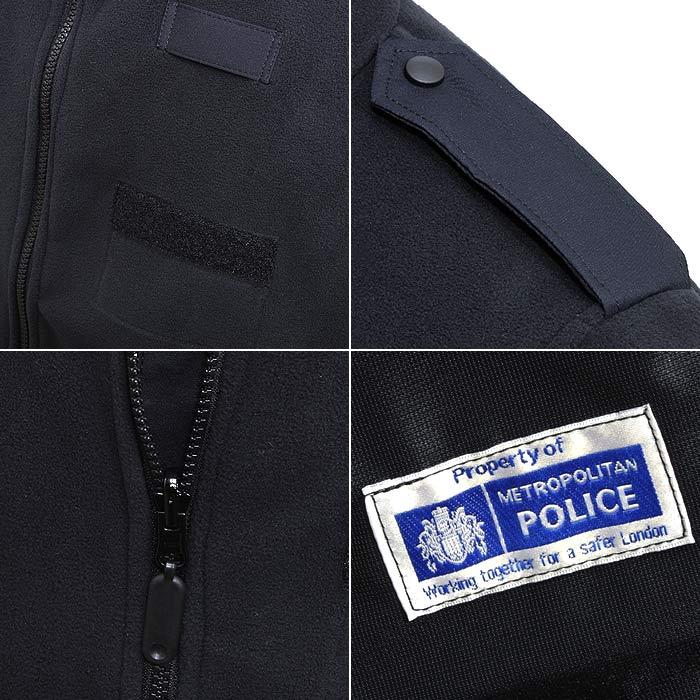 実物放出品 UK メトロポリタンポリス ポーラテック フリースジャケット/デッドストック<br>【英国 metropolitan police polartec fleece deadstock】メンズ ロンドン警視庁 警察