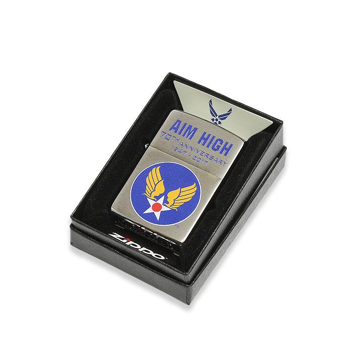 ZIPPO ARMY AIRFORCEウイングマーク<br>【ジッポ アーミーエアフォース Wing Mark】ミリタリー アメリカ陸軍航空隊 喫煙具 オイルライター Lighter