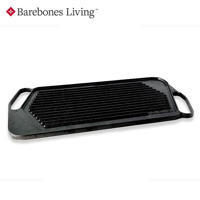 Barebones Living グリドル【ベアボーンズリビング Griddle】アウトドア 鋳鉄製 BBQ バーベキュー リバーシブル